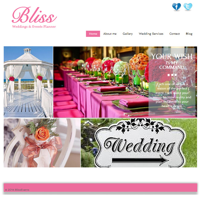 Chuck - Landscaping  Bliss Events