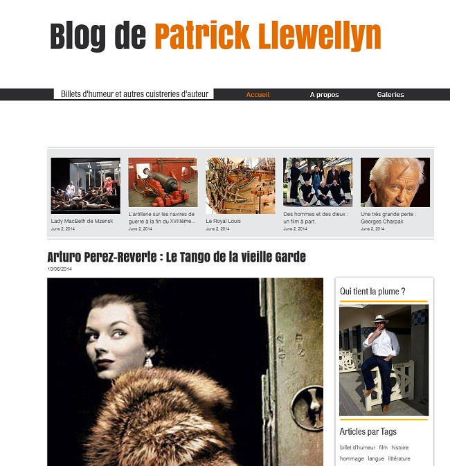 Blog de Patrick Llewellyn
