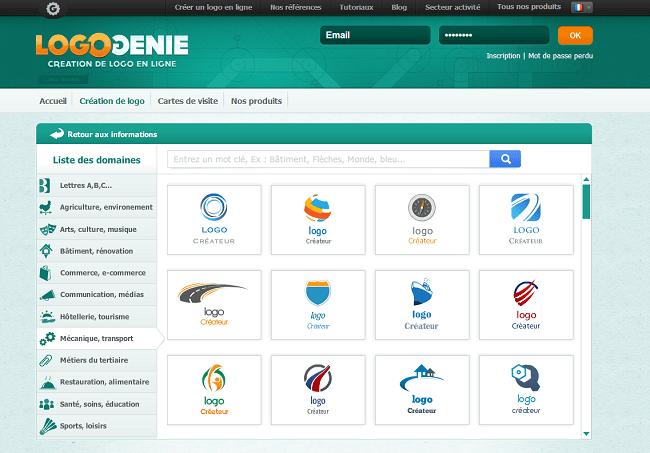 Créer votre logo grâce à notre outil de création de logo automatique