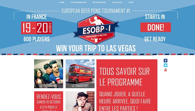 Europ Beer Pong Tournament