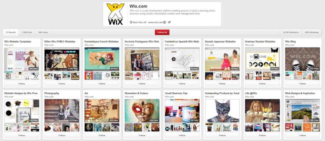 Wix sur Pinterest