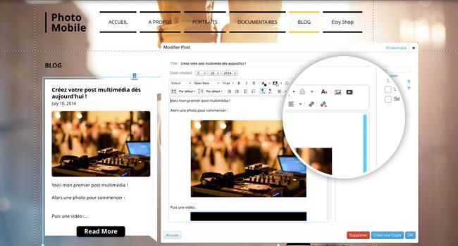 Blog multimédia