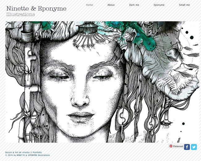 ninette & eponyme illustrations