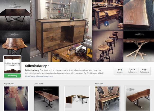 Fallen Industry sur Instagram