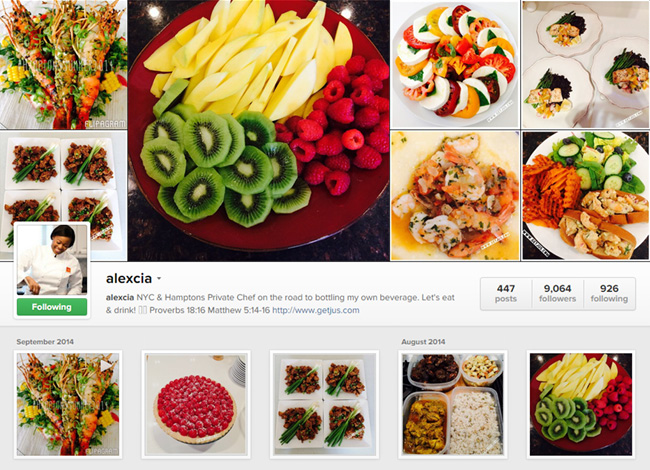 Get Jus sur Instagram