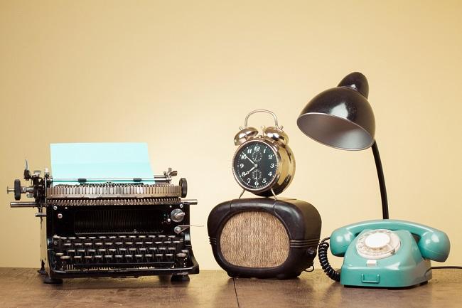 Appareils de communication vintage