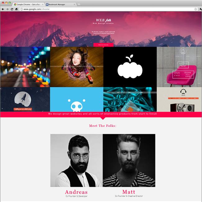 templates Wix : studio de design