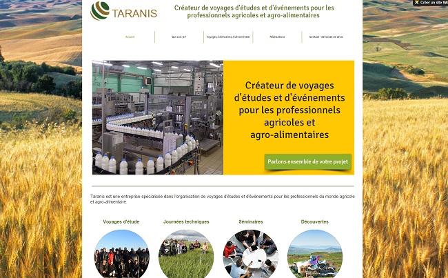 Taranis : créateur de voyages d'études et d'événements pour les professionnels agricoles et agro-alimentaires