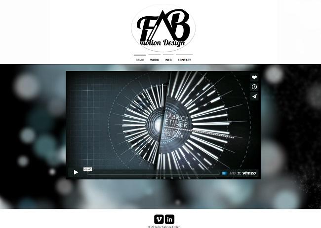 FAB motion design