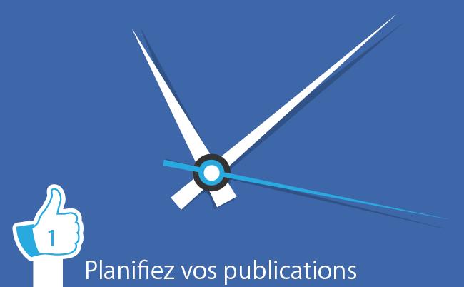 Planifiez vos publications