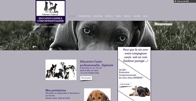 Fabienne chaboud educateur canin savoie haute savoie isère