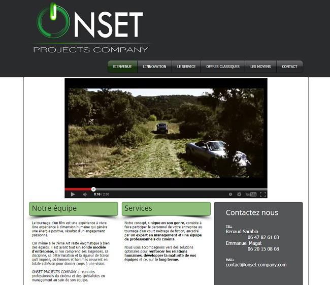 Onset Projects Company : fait participer le personnel de votre entreprise au tournage d'un court métrage de fiction