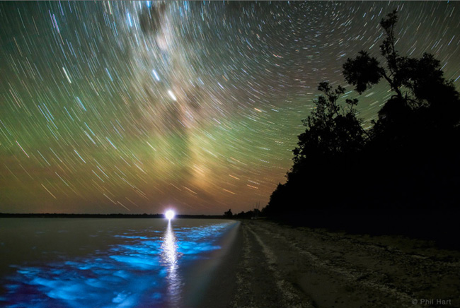 Gippsland Lakes in Victoria, Australia par Phil Hart