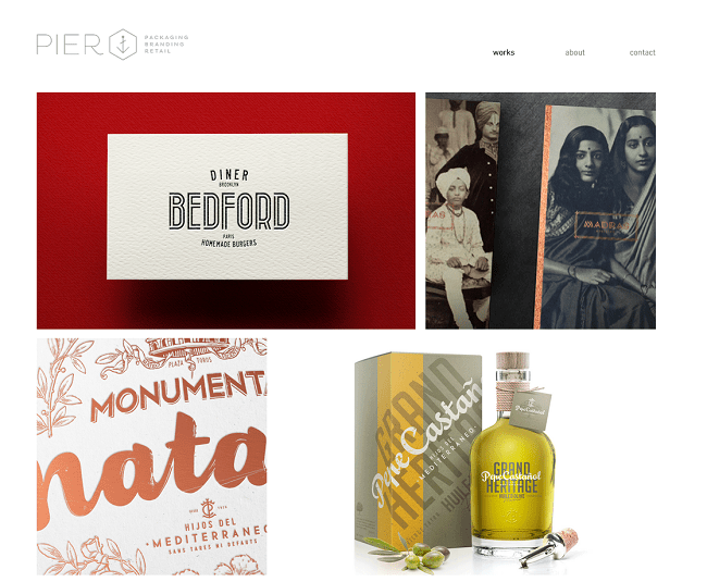 Pier Agence de design Branding Packaging Retail