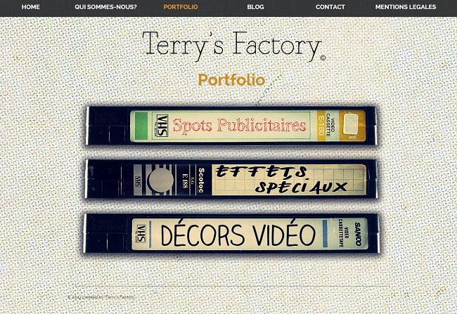 Terry s Factory   PORTFOLIO