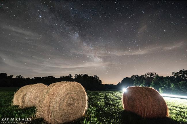 Starry Night in Indiana par Zak Michaels