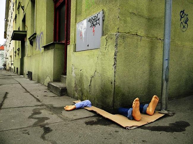 Art urbain à Prague