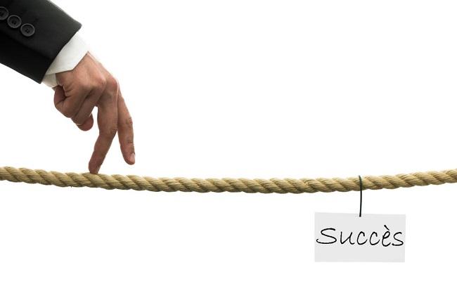 Vers le succès