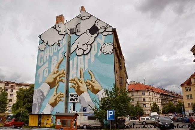 Art Urbain à Prague par Pasta Oner