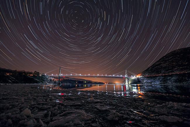 New York Sky par Sam Yee