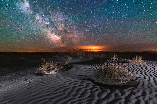 Stars in North Dakota par Marshall Lipp