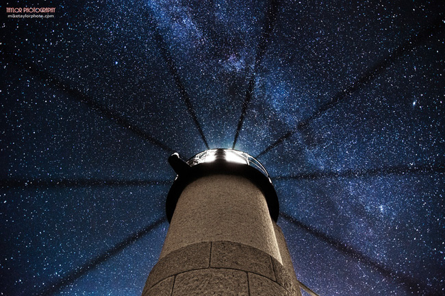 Night Sky in Maine par Mike Taylor