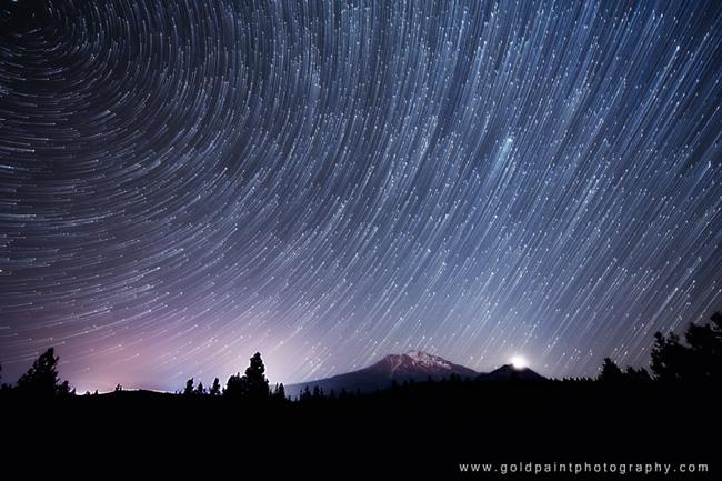 Mount Shasta, California par Goldpaint Photography