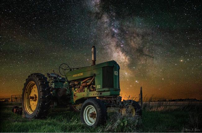 Starry Night in South Dakota par Aaron J Groen