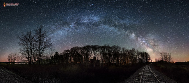 Milky Way in Maine par Mike Taylor