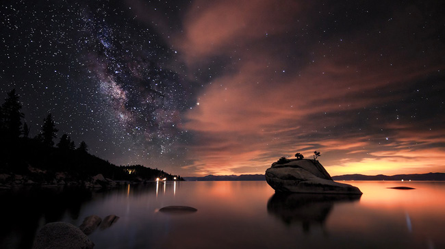 South Lake Tahoe, California par Nixon Smith