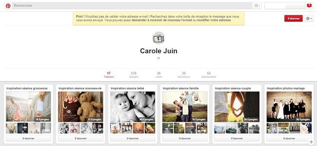 Carole Juin sur Pinterest