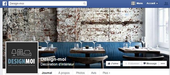 Design moi sur Facebook