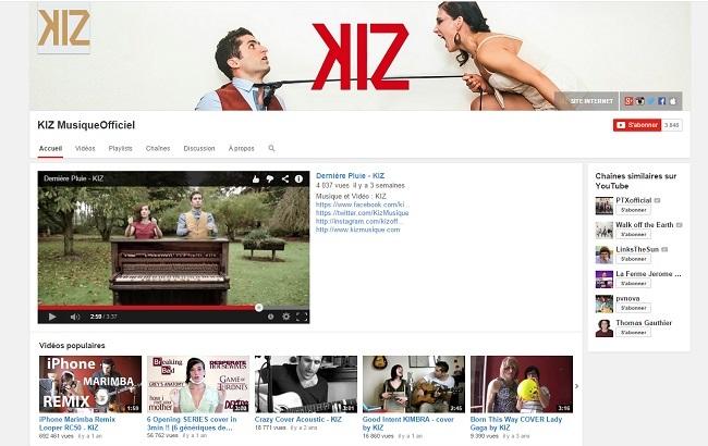 KIZ MusiqueOfficiel   YouTube