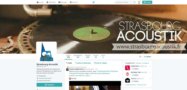 Strasbourg Acoustik   StrasAcoustik    Twitter