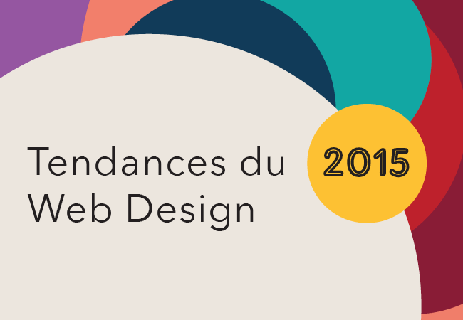 Tendances du web design 2015