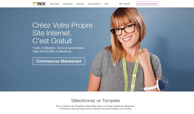 Créer un site internet   Création de site web gratuit   WIX