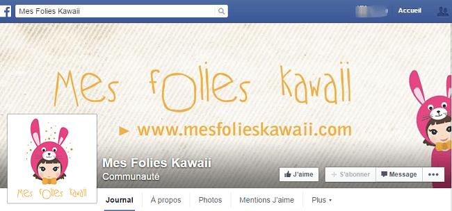 Mes Folies Kawaii sur Facebook