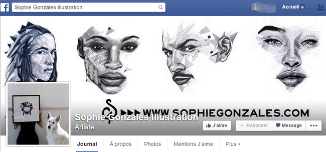 Sophie Gonzales Illustration sur Facebook