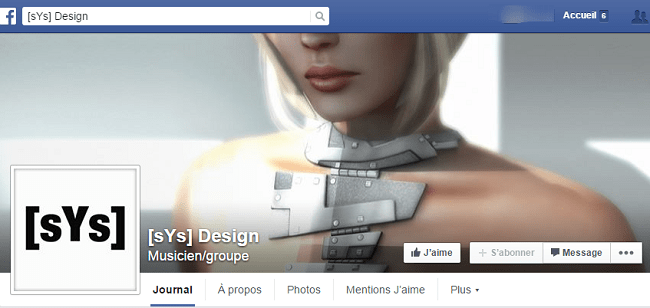 sYs Design sur Facebook