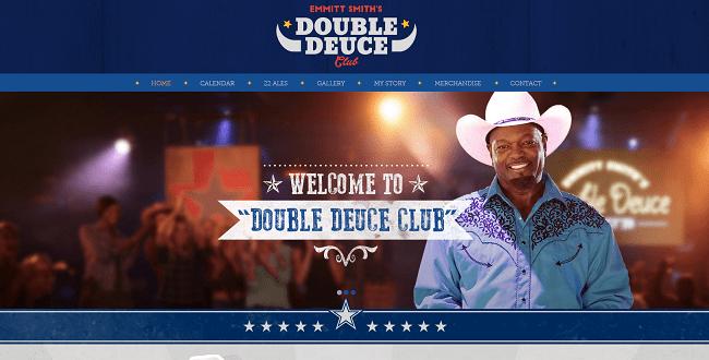 Double Deuce Emmitt Smith s Nightclub Wix.com s Super Bowl Ad