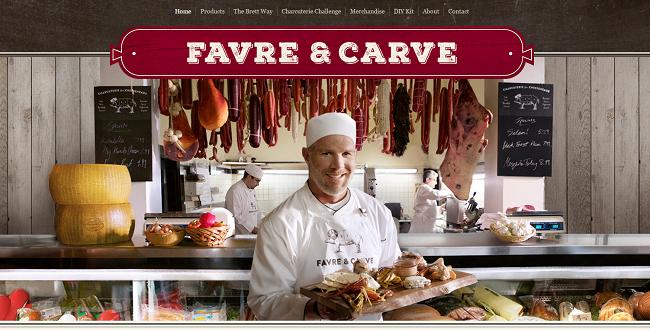 Favre Carve Brett Favre's Charcuterie Wix.com Super Bowl Ad