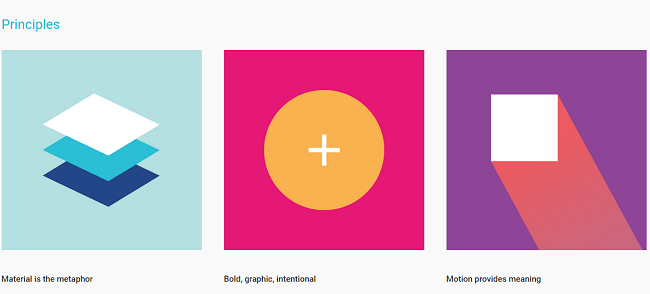 Introduction   Material design   Google design guidelines