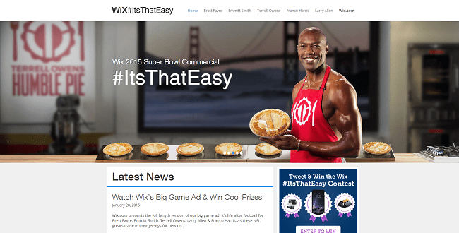 ItsThatEasy   Super Bowl 2015 Commercial   Wix.com