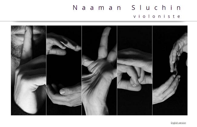 Naaman Sluchin   Accueil