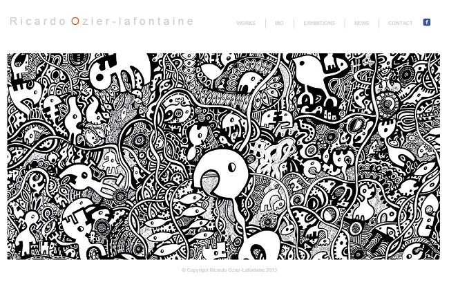 Ricardo Ozier Lafontaine artiste plasticien