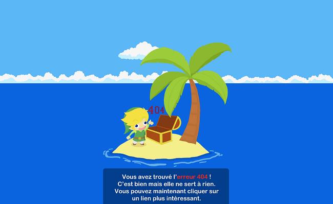 Vous avez trouvé l erreur 404 NintendojoFR