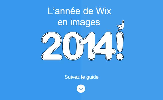 L'année de Wix en images