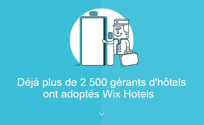 Solution d'hôtellerie Wix Hotels