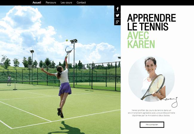Site de tennis