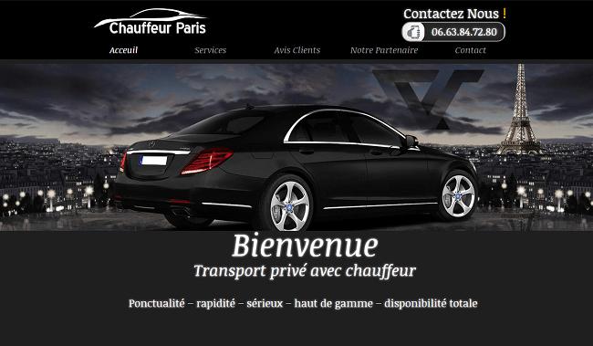 chauffeur Paris